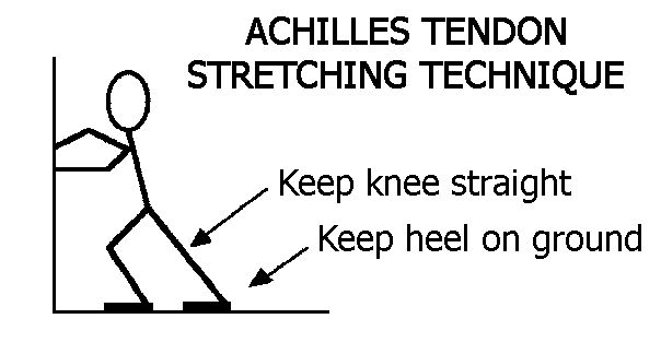 achilles stretch